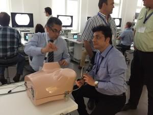 doctor nitesh germany training session